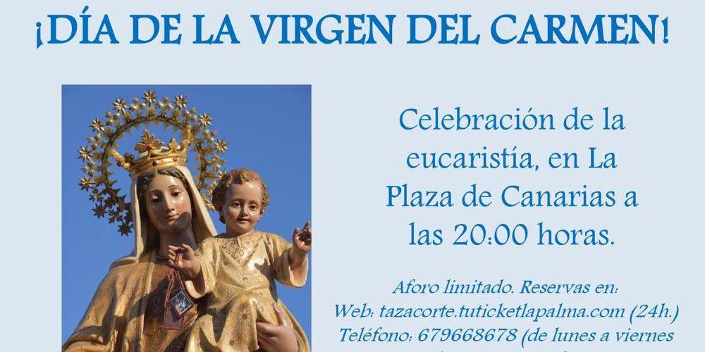 Celebración Eucaristía Día de la Virgen del Carmen